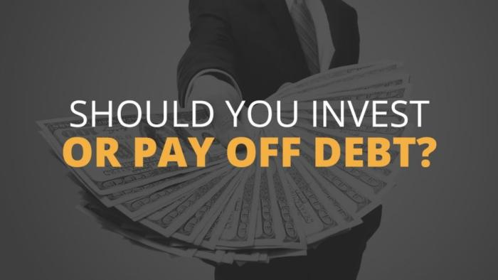 pay debt or invest